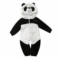 Newborn Baby Boy Girl Winter Romper Jumpsuit Bodysuit Playsuit Outfit Clothes