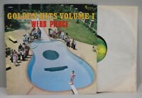 Webb Pierce LP, Golden Hits, Volume 1, Plantation Records, 1976, EX/EX-, R-0090