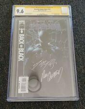 Amazing Spider-Man #539 CGC 9.6 Black Costume SIGNED X2 STRACZYNSKI and GARNEY