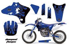Dirt Bike Graphics Kit Decal Wrap For Yamaha WR250 WR450F 2005-2006 DFLAME K U