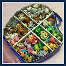 Huge LOT of Littlest Pet Shop LPS Animals Cats Dogs 70 PETS EUC w/ CARRY CASE
