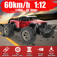 60Km/h RC Off-road Vehicle  Car Remote Control  Monster Truck Toy Gift fo 2021