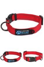 New listing Max and Neo Neo Nylon Buckle Reflective Dog Collar - Small Red
