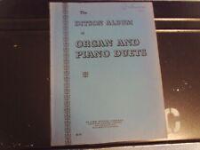 arr, Stoughton: Ditson Album of Organ & Piano Duets (Flammer)