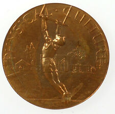 Sports, gymnastics. PHYSICAL CULTURE. By John Pinches & Co. Bronze 38mm