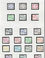 UK Jersey 1969 & 1991 postage due sets MNH sg D1-20 on album page CV £40