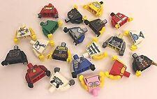 Lego® 20 gemischte Oberkörper Torso für Figuren Minifig  unbespielt new