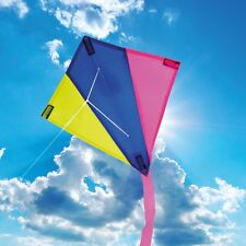 BROOKITE CHILDRENS KITE MINI / MICRO KITE DIAMOND FUN SINGLE LINE KITE