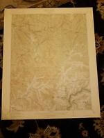 22x29 1915 USGS Topo Map  Summerville, West Virginia Tiptoft Twentymile Creek