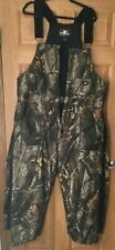 ARCTICSHIELD mens Overalls Camo Hunting Realtree Hardwoods Quilted Lined Zip M