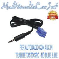 Cavo Spinotto Audio Ingresso AUX IN MP3 FIAT Grande Punto Scudo dal 2007 4140