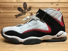2006 Nike Air Max Penny IV 4 sz 12 Grey Red Black White 312455-003 CR