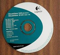 Vintage Logitech MouseWare Driver Installation CD  v9.24/M3.5.1