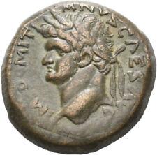 DIONYSOS Domitianus AE-30 Antiochia SC im Kranz  #LJ 1793