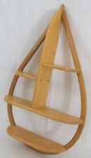 Handmade Oak Teardrop Shelf