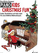 Klavier Noten : Piano Kids CHRISTMAS FUN leicht HEUMANN Weihnachten  ED9393