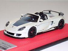 1/43 Tecnomodel Porsche Carrera GT Spider Fuji White Leather Limited 25 T-EX23E