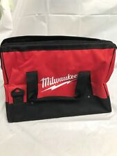"""Milwaukee Tool Bag Small Storage Case Canvas Contractor Tote M12V Drill 16"""""""