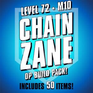 Borderlands 3 [CHAIN ZANE] Build Pack [LEVEL 72 • M10] BL3 [ALL PLATFORMS]