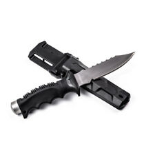 Titanium Scuba Knife SHARP TIP 4.5 Inch Blade Scuba Dive Snorkel Buy Yes