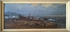 Old Oil on Board painting signed by the artist