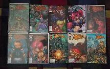 BATTLE CHASERS Prelude #1 2 3 4 5 6 7 8 9 Comics Set  Video Game Madureira