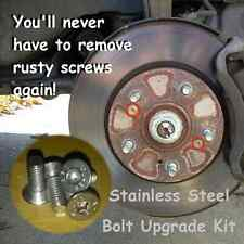 Brake Disc Retaining Bolts Screws Set Stainless Steel Fiat Punto 500 Bravo
