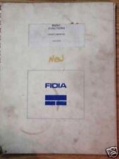 Fidia CNC Control M2/M30 Basic Functions User's Manual