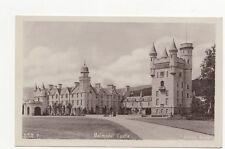 Balmoral Castle Vintage RP Postcard  166a