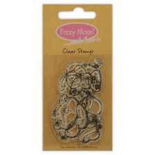 FIZZY MOON CLEAR STAMPS GREAT FOR CRAFTS - FRIENDSHIPS