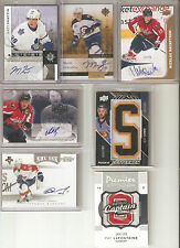 2011-12 Ultimate Collection MARK SCHEIFELE Auto Signature Rookie RC Gold #35/99