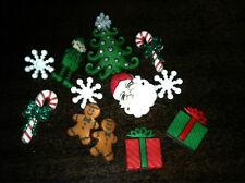 "Dress it Up ""Christmas"" Buttons Christmas"