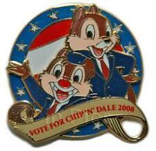 Disney Vote for Chip 'n' Dale  Pin