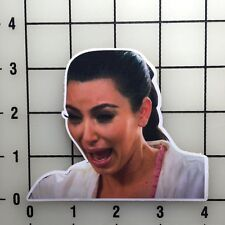 "Kim Kardashian 4"" Wide Color Vinyl Decal Sticker - BOGO"