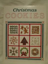 Oxmoor House Christmas Cookies Cookbook - Bars Drop Rolled Sliced Shaped Foreign