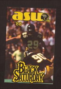 Appalachian State Mountaineers--1988 Football Pocket Schedule--Hardee's