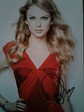 "Taylor Swift Promotional Autographed Photograph  11""x 8"""