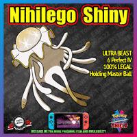 Shiny NIHILEGO   Ultra Beast   Crown of Tundra   6IV    Pokemon Sword Shield