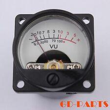 Generic Panel VU Meter DC500μA Warm Back light HIFI Audio AMP CD Player DIY 1PC