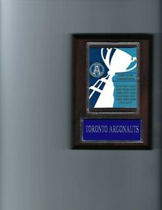 TORONTO ARGONAUTS PLAQUE FOOTBALL CFL CHAMPS