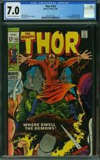Thor 163 CGC 7.0 -- 1969 -- 2nd app HIM (Warlock). Pluto. Kirby #2027770019