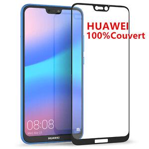 Huawei P8 P9 P10 P20 Lite Mate10 film protection écran vitre verre trempé Total
