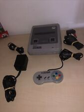 Super Nintendo Snes Entertainment System Super Set Entertainment System Grau...