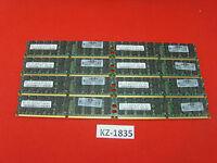 SAMSUNG 16GB 8x2GB M393T5750EZA-CE6Q0 2Rx4 PC2-5300P DDR2 RAM ECC Server KZ-1835