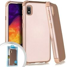 Samsung Galaxy A10e (A102) Slim Hybrid HARD&SOFT Shockproof Armor Case Rose Gold