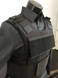 Bullet Proof Vest  Made With Kevlar 3a Inserts Plate Body Armor Bulletproof