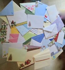 Lot of 80 Various Sizes Greeting Card and General Purpose Envelopes