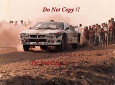 Attilio Bettega MARTINI LANCIA 037 Rally Portogallo RALLY 1984 fotografia 1