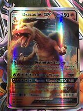 Carte Pokémon Dracaufeu GX FR Full Art FAN MADE