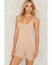 Nasty Gal Close Call Seamless Romper Size M/L Color: Nude 72826 - 11